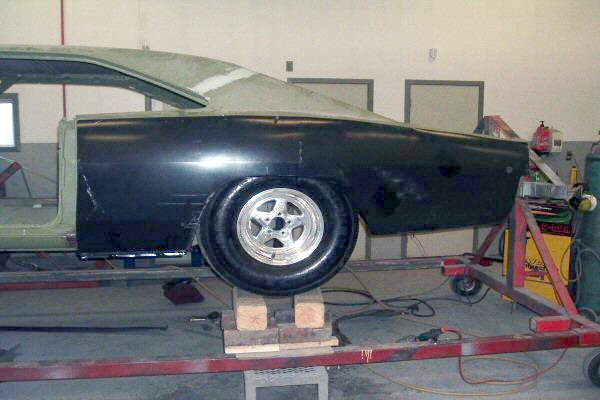 68 Charger Pro Street Fitting